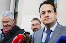 Leo Varadkar: There's a 'sinister fringe' of violent Irish Water protesters
