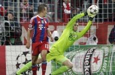 Manuel Neuer produced more goalkeeping heroics for Bayern last night
