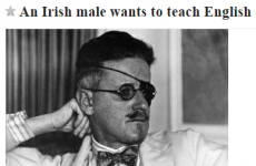 That 'Irish alcoholism' job rejection? There's now a Craigslist response from Seoul...