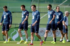 What shape is the Ireland squad in a week out from the Scotland qualifier?