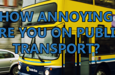 How Annoying Are You On Public Transport?