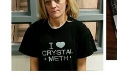 This woman was arrested while wearing the most apt t-shirt possible