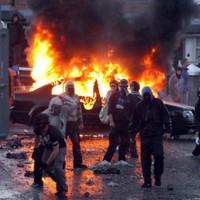 Ardoyne footballers stabbed and beaten 'by loyalist mob'
