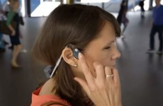 This headset helps the blind navigate the city they're in