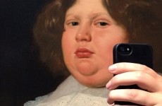 People are making old paintings take selfies and the results are deadly
