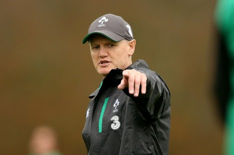 Schmidt masterminded a Six Nations triumph earlier this year.