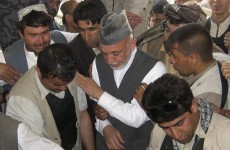 Four dead in suicide bombing at Karzai brother's memorial service