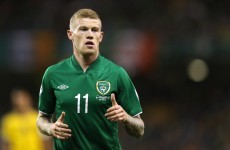 Ireland's James McClean writes letter outlining his reasons for not wearing a poppy