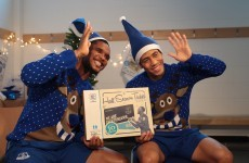 Not one day too soon - Samuel Eto'o and Steven Pienaar star in Everton's Christmas video