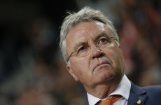Guus Hiddink has added a WWE-style stipulation to the upcoming Holland-Latvia game