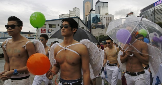 'It's just two people in love' - Thousands march in Hong Kong gay pride parade