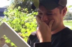 This man's emotional reaction to discovering his wife is pregnant will make you weepy