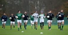 Ireland's International Rules stars tog out for Carton House get-together