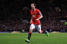 Mata strike enough for United to see off lowly Palace