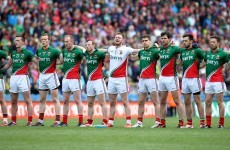 'I do believe that Mayo will get there.  We will lift Sam Maguire and wash away those years of hurt.'