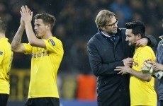 Borussia Dortmund slump to new low as they move bottom of Bundesliga