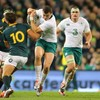 'I love a big hit': Henshaw more than comfortable in centre of the Test arena