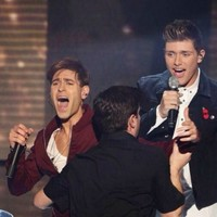 Some hero invaded the stage on the X Factor last night