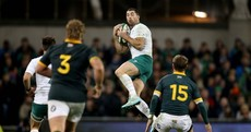 O'Connell's big 17 tackles and more vital statistics from Ireland's win over the Springboks