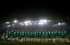 Open Thread: Who would you like to see play for Ireland against Georgia next week?