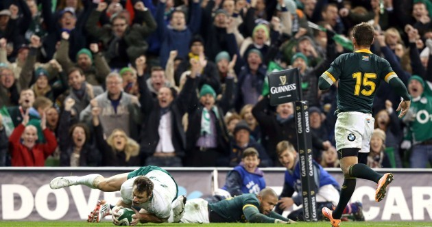 Bowe and Ireland targeting hat-trick of Autumn wins after South African shakedown