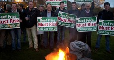 Another 48 hours: Farmers dig-in for overnight meat factory protests