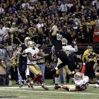Drew Brees threw a monster game-winning Hail Mary... and then the refs threw a flag