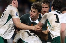 Munster set to sign South African centre Pat Howard