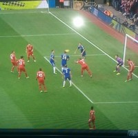 This pic epitomises Liverpool's current defensive issues