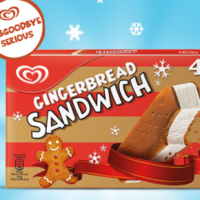There are now gingerbread Icebergers in time for Christmas