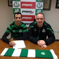 Keith Fahey has signed for Shamrock Rovers