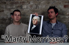 Irish youngsters display questionable knowledge about American history