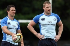 Leinster announce squad for Glasgow match