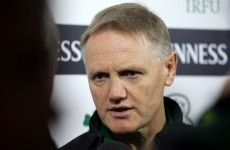 'We just said: what about Joe Schmidt? He seemed bloody good'
