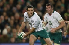 'Johnny's a poster boy for being a professional' - Sexton up for IRB award