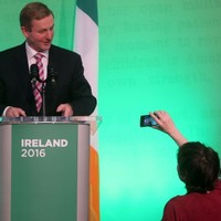 Protester removed from 1916 event after she called Enda Kenny the C-word