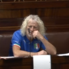 Mick Wallace is wearing an Italy soccer jersey in the Dáil this morning
