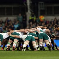Ireland's scrum out to right their Boks wrongs against Georgians