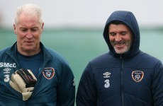 Keane's all smiles at Ireland training as squad prepare for Scottish trip