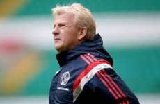 'It's not going to be Celtic Park. Tomorrow, it will be Scotland's park' - Strachan