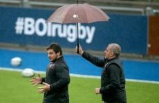 Who makes up the Georgian squad taking on Joe Schmidt's Ireland?