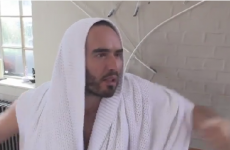 Russell Brand is an anti-water charge protester