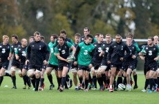 Dave Foley set for Ireland debut as Schmidt looks to shuffle the deck
