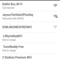 """State of you"" WiFi network found on Dublin Bus"