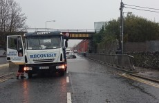 Flooding causes delays on roads, rails and trams today