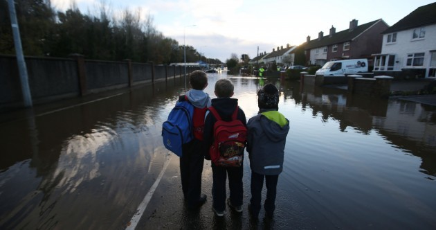 Photos: The floods have arrived