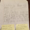 This kid's homework and his teacher's notes are a joy to behold