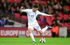 Either this trick is a fake or Adam Lallana is actually a magician