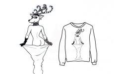 Irish company threatening to make this Kim Kardashian arse Christmas jumper