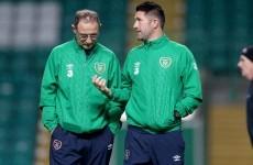 Robbie Keane does not start against Scotland - here's the Ireland team